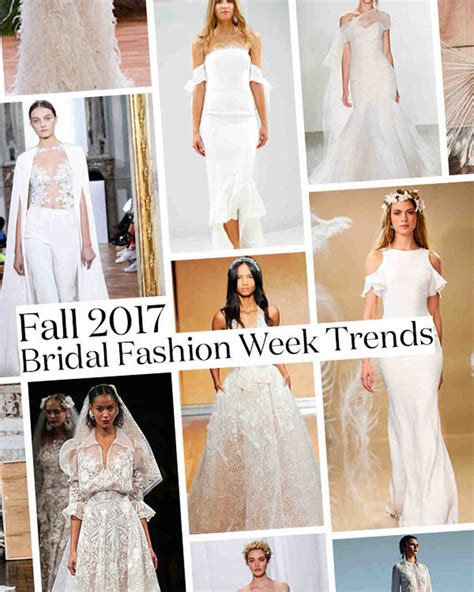 Wedding Dress Trends by Top 10 Fall Wedding Dress Trends From Bridal Fashion Week