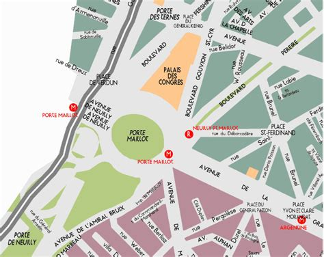 porte maillot mappa area map by provence beyond