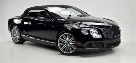 black convertible bentley bentley continental gt convertible black in dubai