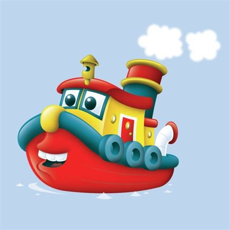 tugboat cartoon 27 best cartoon boats images on pinterest