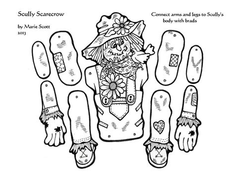 scarecrow coloring page pdf scarecrow coloring pages printable sheet for kids id 80155