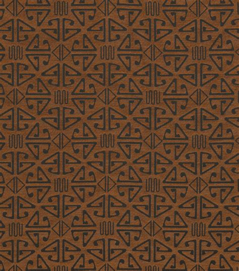 Aztec Upholstery Fabric Home Decor Upholstery Fabric Crypton Aztec Chestnut Jo