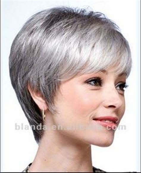 short styles for thick grey hair short hair styles for women over 50 gray hair bing