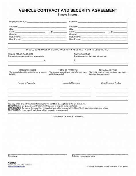 Security Agreement Letter Of Credit security agreement security agreement form pdf sle