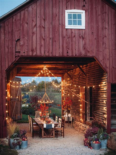 backyard barn 15 gorgeous backyard dining tables made for summer