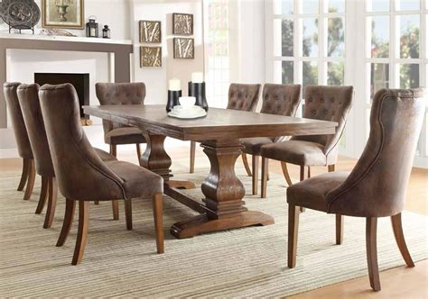 Pedestal Dining Room Table Sets by Furniture Stores Formal Dining Set In Chicago