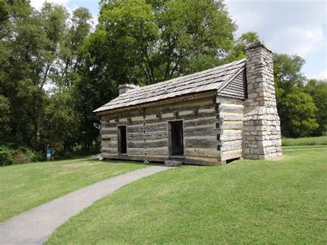 log cabin picture of andrew jackson s hermitage