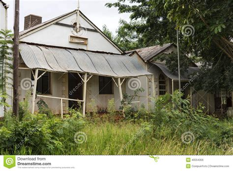 south african old house music old abandon gold mine village leydsdorp stock photo image 40554356