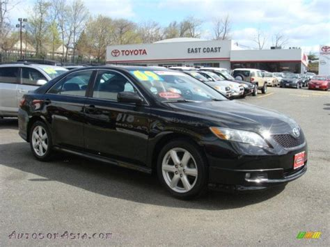 2009 Toyota Camry Se Black 2009 Toyota Camry Se In Black 294202 Autos Of Asia