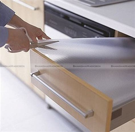 Kitchen Cabinet Door Pads Shanghaimagicbox Clear Drawer Mat 59x12 Quot Shelf Liner Cabinet Storage Pad Kitchen 40414328 In