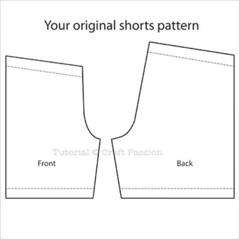 printable toddler shorts pattern free boyshorts patterns lena patterns