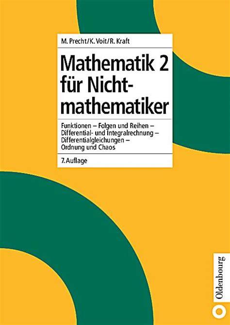 bd funktion mathematik f 252 r nichtmathematiker bd 2 funktionen folgen