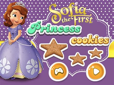 sofa the first games sofia the first princess cookies sofia the first games
