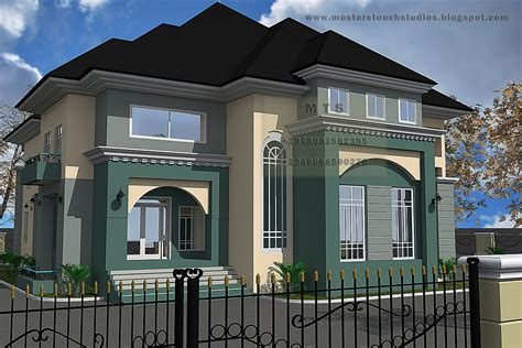 Houses With Floor Plans by 5 Bedroom Duplex Residential Homes And Public Designs