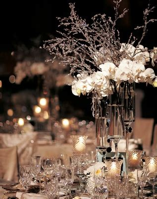 Winter Circus Wedding At The Ringling Museum Of Art In Snowflake Centerpieces Wedding Receptions