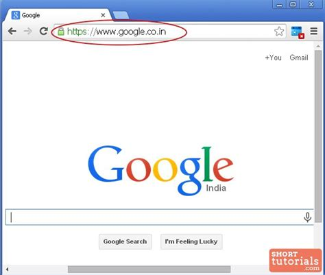 Search In Address Bar Address Bar Where Is The Address Bar In Chrome Browser