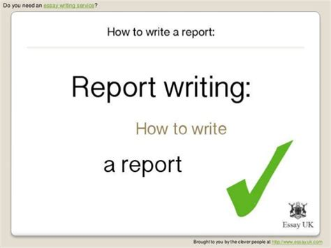 How To Write Report Essay by Malecki Recruitment Solutions