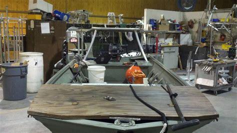 jon boat with poling platform poling platform build for jon boat by palmettotrooper