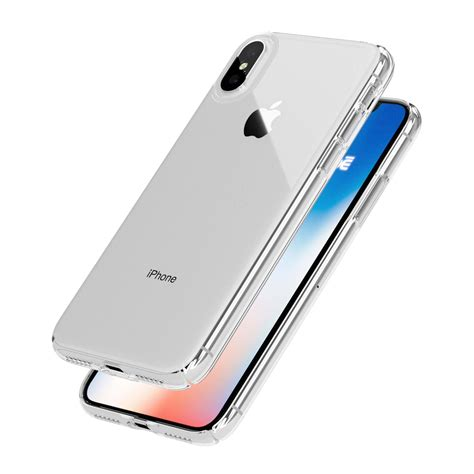 iphone x caudabe lucid clear ultra slim crystal clear iphone x