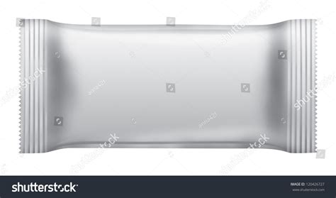 blank chocolate bar package isolated  stock illustration