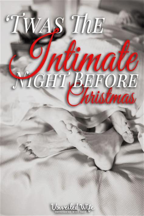 twas  intimate night  christmas