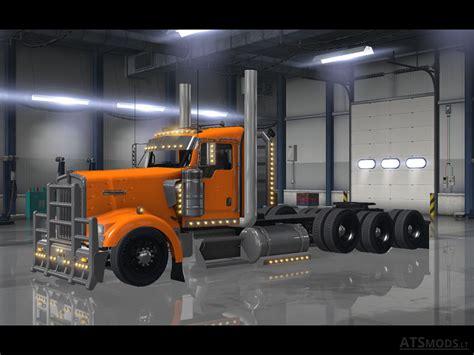 truck hub kenworth trucks kenworth w900 tri drive v3 0 by bu5ted american truck