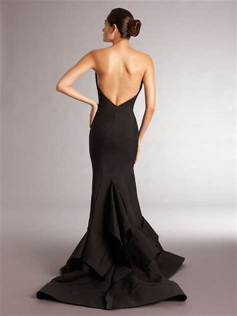 Origami Evening Dress - strapless origami evening gown gorgeous but seriously