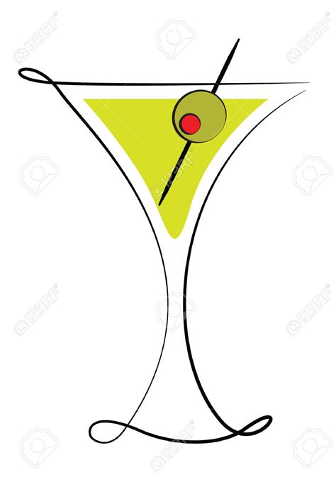martini olive olive clipart martini pencil and in color olive clipart