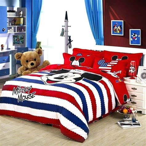 mickey mouse comforter twin extraordinary colors for decorating your kid s room design