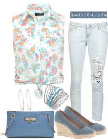 Floral summer outfits be modish