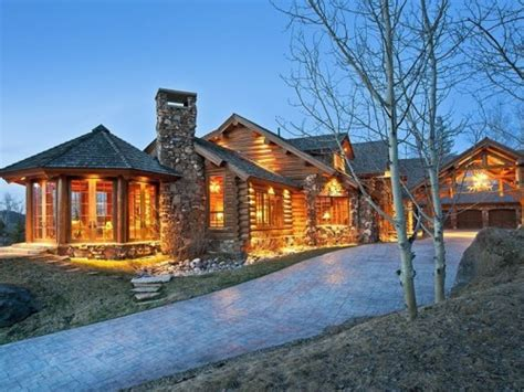 luxury log cabin home luxury mountain log homes