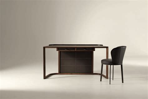 Ion Desk by Ion Desk By Chi Wing Lo For Giorgetti Space Furniture