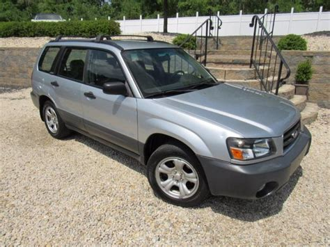 2004 Subaru Forester For Sale by 2004 Subaru Forester For Sale Carsforsale