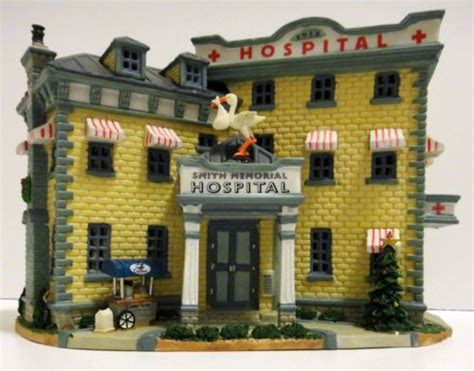 lemax christmas village hospital pin by virginia bowen on coordinator