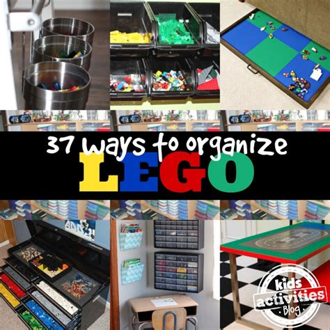 the best way to organize a lifetime of photos 37 genius lego organization ideas