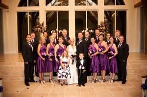 Purple White And Black Wedding Ideas Colors Invitation Sle