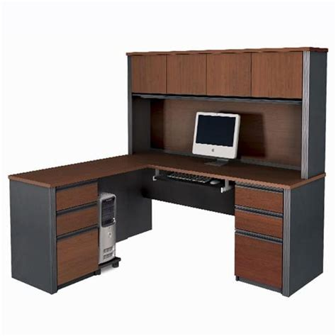 Computer Desk With Hutch Cheap L Shaped Desk With Hutch January 2012 If Finding The Best Cheap L Shaped Desk With Hutch Our