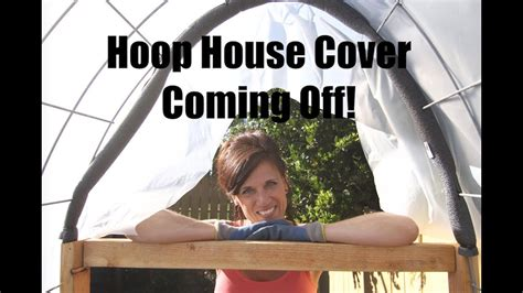 diy hoop house cover  coming  spring   youtube