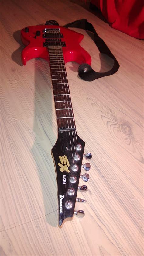 Gitar Ibanez S Series Merah Up ibanez ex series image 606079 audiofanzine