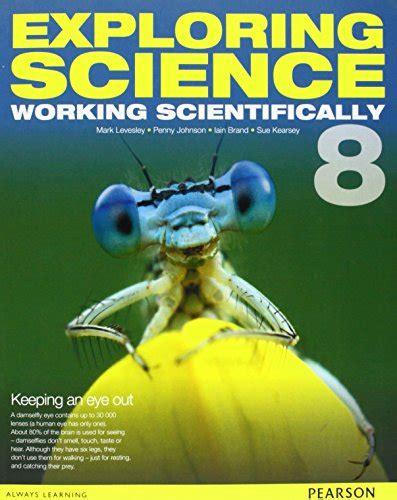 exploring science working scientifically student book year 9 scienze natura e tecnologia