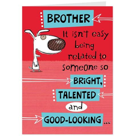 happy birthday brother cards printable happy birthday brother funny bing images birthday