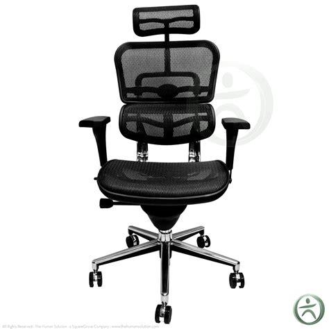Raynor Chair Raynor Ergohuman Me7erg Mesh Chair With Headrest Open