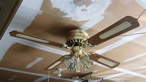 harbor bay ceiling fan quot weathered copper powder coat harbor bay patio ceiling