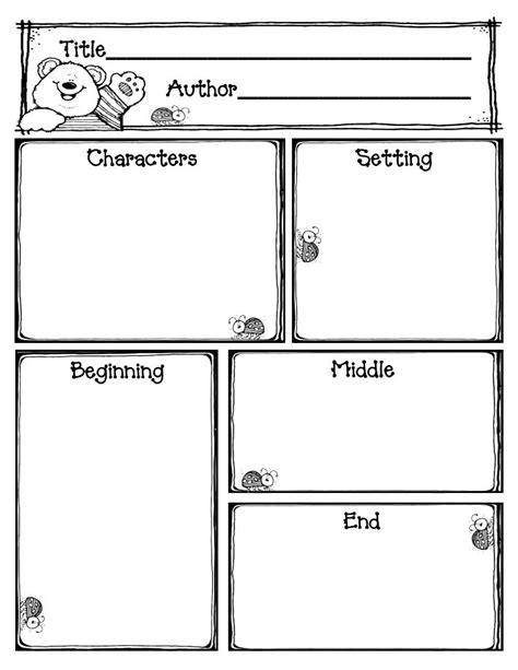 story maps printable story elements dice myideasbedroom