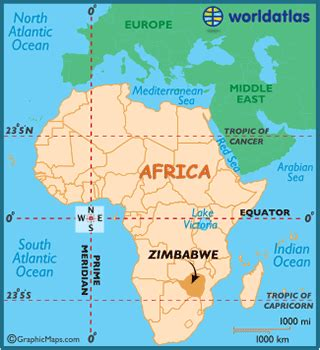 zimbabwe maps including outline  topographical maps