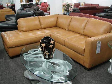 camel leather sectional sale italsofa by natuzzi i276 amora quot camel leather