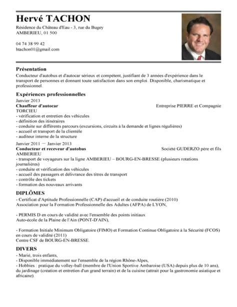 Lettre De Motivation De Chauffeur Routier Exemple De Cv Conducteur Routier