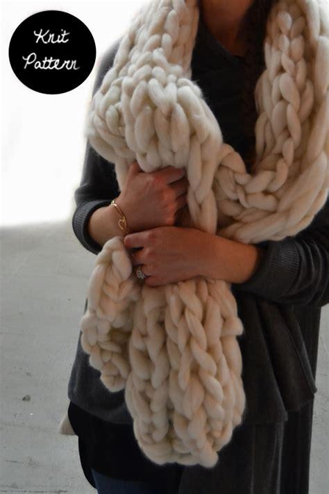 jamie pattern jamie scarf knit pattern manuosh