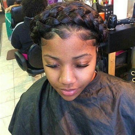 halo braid african american hair 25 best ideas about halo braid with weave on pinterest