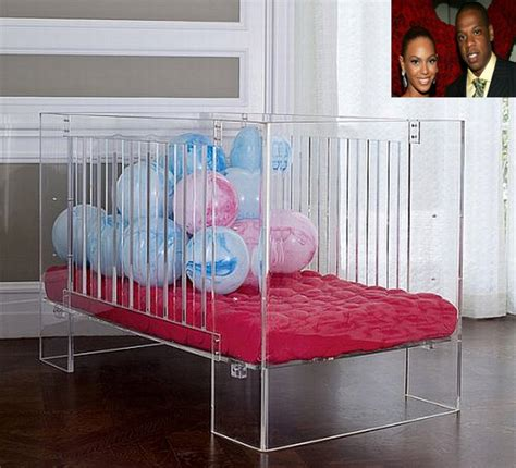 Perspex Crib by A Crib Like No Other For A Child Like No Other